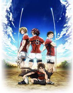 Anunciados cinco nuevos miembros del reparto del Anime ALL OUT!!.