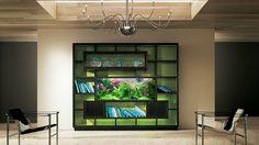 Bookshelf Aquarium