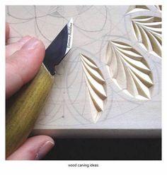 wood carving pattern for beginner
