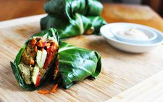 Hilary's Mediterranean Bites are the basis for these delicious and healthy Collard Greens Wraps. Hilary's has products for allergen-free…