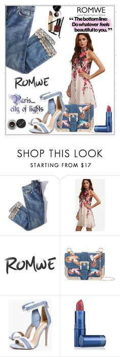 """""""romwe contest"""" by sunshinerose-11 ❤ liked on Polyvore featuring Brock Collection, RED Valentino, Boohoo, Lipstick Queen and Bobbi Brown Cosmetics"""