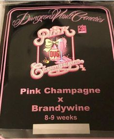Flowering Time (Days) Yield Lineage Pink Champagne x Brandywine Height Location Species THC CBD Date Released 15 December 2018 Description 15 December, Pink Champagne, Vaulting, Genetics, Day