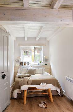 Dormitorio: cómo decorarlo y aprovecharlo mejor según los metros