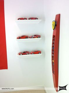 Ferrari Diecast Display