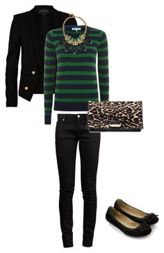 """""""Prepy style"""" by glam-farren ❤ liked on Polyvore featuring River Island, Dickins & Jones, Ela Stone, Accessorize, Yves Saint Laurent, Lanvin, women's clothing, women, female and woman"""