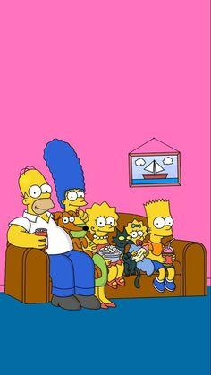 Simpson Wallpaper Iphone, Wallpaper Iphone Disney, Emoji Wallpaper, Iphone Background Wallpaper, Wallpaper Spongebob, Simpsons Drawings, Simpsons Art, Digital Foto, The Simpsons