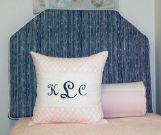 Terrific combo of Soft Pink and Navy @ Dorm Suite Dorm.com