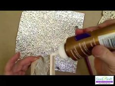 Want to make vintage looking crafts? Watch this How to Make Look of Forged Metal with Aluminum Foil Video and learn about a fun and exciting craft technique. Metal Crafts, Paper Crafts, Diy Crafts, Aluminum Foil Crafts, Decoupage, Metal Embossing, Forging Metal, Creation Deco, Card Making Techniques