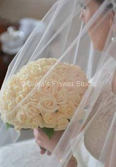 Bridal Bouquet www.clarasflowerstudio.com.au