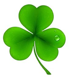 saint patricks day leprechaun with pot of gold and shamrock rh pinterest com shamrock clip art pictures shamrocks clip art free