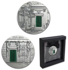 Фиджи 10 долларов, 2013 год. Санкт-Петербург. Малахитовая комната