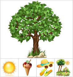 Seasons Activities, Preschool Learning Activities, Summer Activities For Kids, Preschool Worksheets, Book Activities, Preschool Activities, Games For Kids, Teaching Kids, Kids Learning