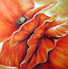 Galerie Zyklus Flora / Natur (Acryl/Öl) • Künstlerin Elisabeth Bunka-Peklar Flora, Fabric, Painting, Nature, Tejido, Tela, Painting Art, Plants, Cloths