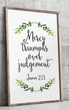 Printable scripture Bible verse wall art by TwoBrushesDesigns