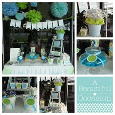 Gorgeous lolly bar for a little boys naming day