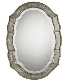 Like shape and design of mirror
