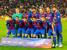 Equipos de fútbol: BARCELONA contra Real Sociedad 15/04/2017