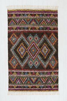 Kenya Diamond Moroccan Rug - Urban Outfitters