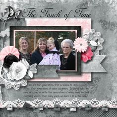 Touch of Time Think Positive kit by Jessica Art-Design