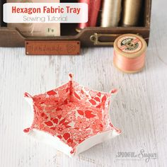 Hexagon Fabric Tray