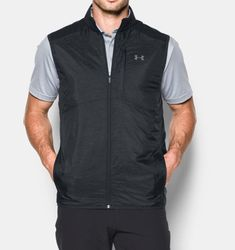 Under Armour Men's CGI Insulated Golf Vest, Size: Small, Asphalt Heather Mens Fashion App, Men's Casual Fashion Tips, Budget Fashion, Fashion Styles, Under Armour Men, Athletic Fashion, Mens Clothing Styles, Vest Jacket, Looks Great