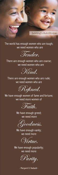 Worldly women versus godly women ~ The world needs more women... cultivating a quiet and gentle spirit