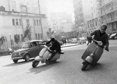"""modern1960s:  """"Vespa vs. Lambretta  """""""