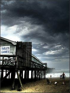 Before The Storm | Avalon Fishing Pier. Kill Devil Hills, North Carolina, US