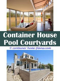 Steel Container Style Home Plans | 20' Container Home | Pinterest