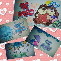 Decoracion de letras!!! My Little Pony, Bff, Diy And Crafts, Birthday Gifts, Best Friends, Pastel, Lettering, Anime, Color
