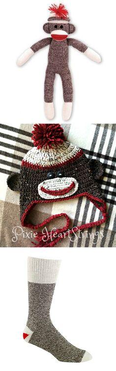 14 Best Sock Monkey Hoodie Images On Pinterest Crochet Baby