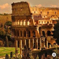 Visitar El coliseo romano, Italia. Hecho