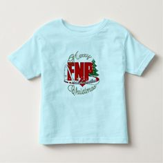FNP MERRY CHRISTMAS Family Nurse Practitioner Toddler T Shirt, Hoodie Sweatshirt