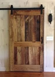 rlp reclaimed chestnut sliding barn door with flat track hardware would love this if we redid our master bedroom use this for the door to the bathroom