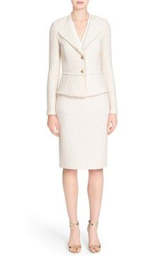 St. John Collection Jacket, Top & Skirt available at #Nordstrom