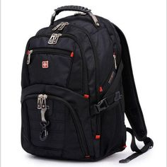 Buy Oxford Men Laptop Backpack Mochila Masculina 15 Inch Man's Backpacks Men's Luggage & Travel Bags with Lock and Rasin Cover at Wish - Shopping Made Fun Waterproof Laptop Backpack, Laptop Rucksack, Computer Backpack, Computer Bags, Laptop Bag, 17 Laptop, Macbook Laptop, Notebook School, Notebook Bag
