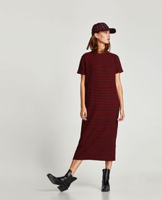ZARA - WOMAN - LONG TEXTURED DRESS