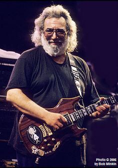 Jerry Garcia - Tomorrow would have been Jerry's 70th Birthday!  Nothing left to do but smile, smile, smile!