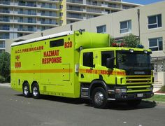 Incident Command Unit ACT Fire Brigade Australia