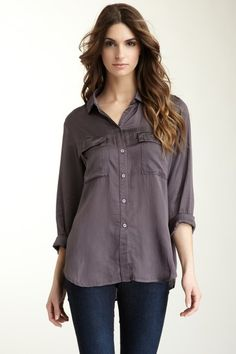 Patch Pocket Button Down by Cloth & Stone on @HauteLook