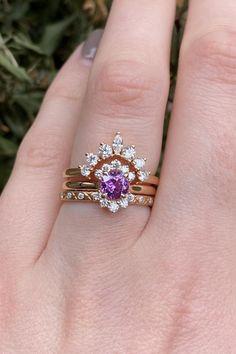 Cute Jewelry, Modern Jewelry, Jewelry Art, Jewelry Design, Antique Jewelry, Jewellery, Wedding Jewelry, Wedding Rings, Wedding Veils
