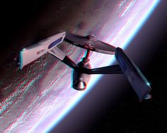 To Boldly Go.....3-D conversion by MVRamsey on DeviantArt