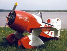 Gee Bee Pedal Plane Plans - http://www.shopeaa.com/geebeepedalplaneplans.aspx