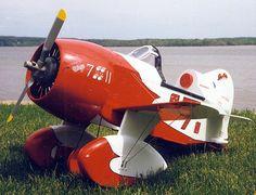 Gee Bee Pedal Plane Plans - http://www.shopeaa.com/geebeepedalplaneplans.aspx
