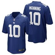 New York Giants Home Game Jersey - Eli Manning