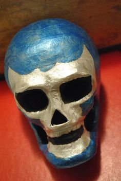 Blue Demon skull!