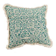 Blue Elsa Tile Pillow   Kirklands
