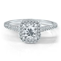 Helzberg Diamond Symphonies®  1 1/4 ct. tw. Diamond Engagement Ring in 18K Gold GUYS THIS IS THE ONE. ITS PERFECT.