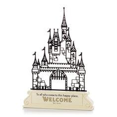 Castle Silhouette Figurine