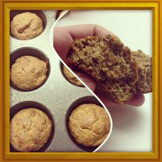 1/2 c egg whites > 1/4 c ground flax seeds > 1/4 c ground almonds > 1/4 c Splenda > 1/2 c natural style Peanut Butter > 1/4 c ricotta cheese > 1 tsp vanilla > 1 tsp baking soda >> mix, pour into muffin tins, bake at 350 for 20 min.  Tastes like a peanut butter bran muffin. SOUTH BEACH DIET PHASE 1